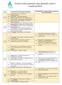 agenda congressos 1