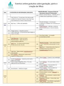 agenda congressos 2
