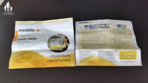amamentação - esterilizador saco