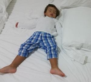 filipe dormindo